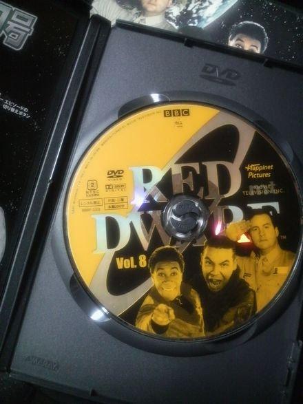 RED DWARFの DVD