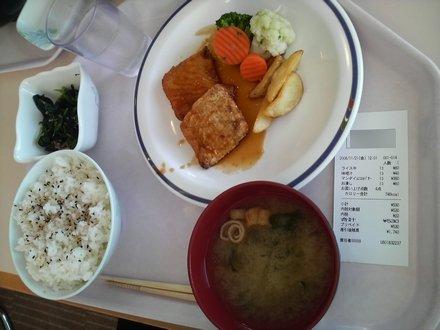 2008年11月21日の昼食