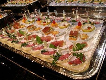 2008年10月 立食パーティー1
