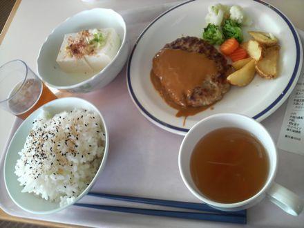 2008年10月17日の昼食