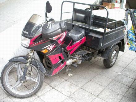 ソウルのオート三輪