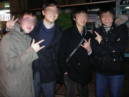 ソウルの友人たち
