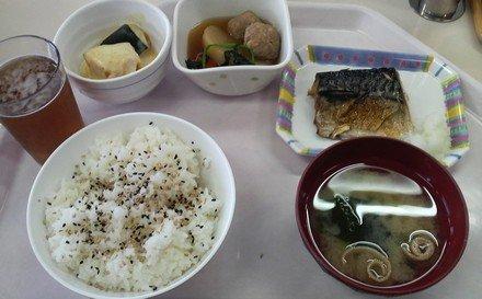 2009年3月25日の昼食